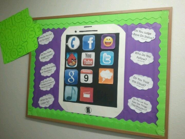 Teen bulletin board