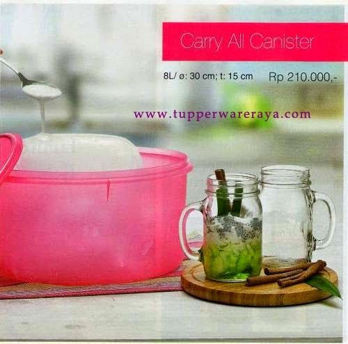 Promo Tupperware April 2014 - Carry All Canister