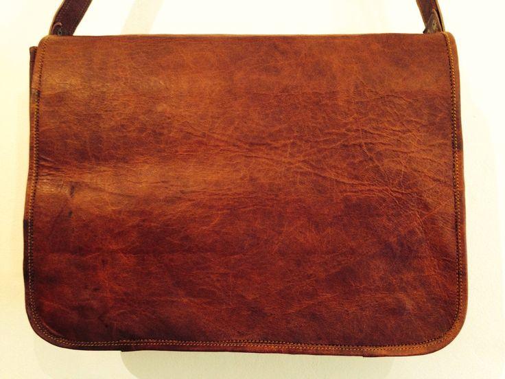 Brunswick Satchel Medium #bag #computer-bag #computer-satchel #handmade-satchel #leather-satchel #uscha