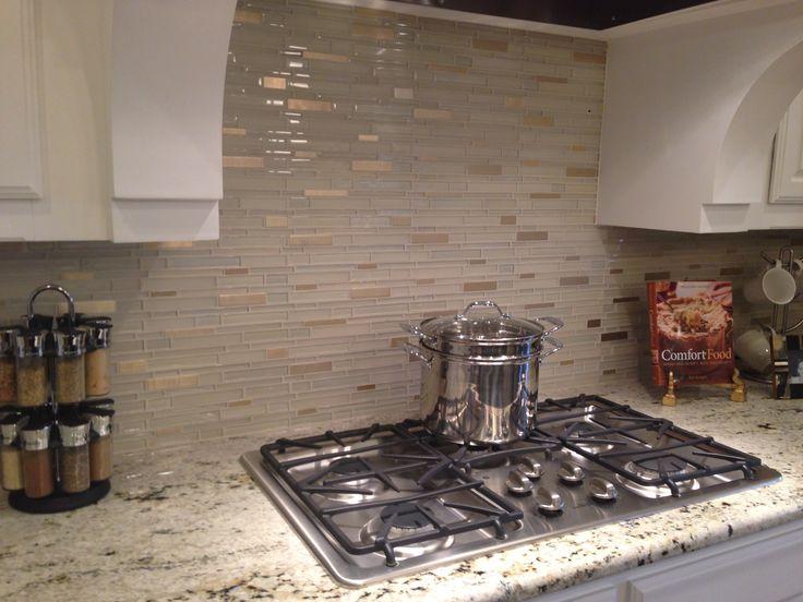 LOVE this backsplash! : Home Decor - Kitchen : Pinterest : Love this and Love