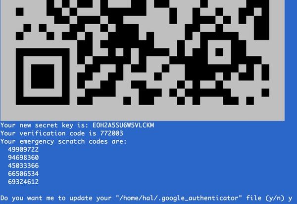 Google Authentication for your server login