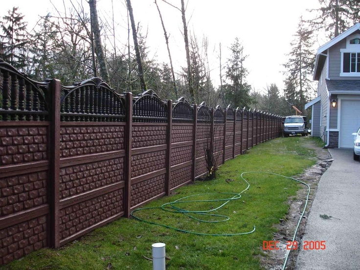 this is a poured concrete fence  isn u0026 39 t it amazing  it blocks traffic noise really well  i think