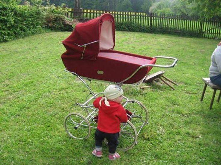 ddr kinderwagen auf pinterest nostalgie kinderwagen. Black Bedroom Furniture Sets. Home Design Ideas