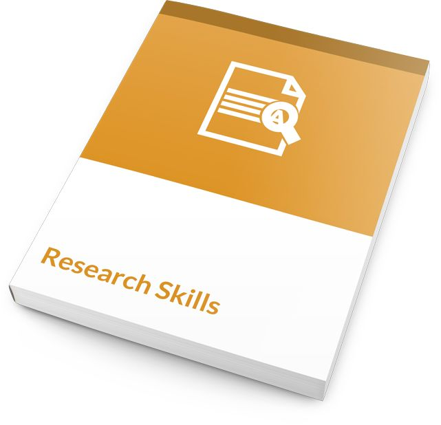 This workshop courseware allows you to work with several different tools so that your participants become stronger researchers and can create proposals, reports, or simply find good information and review it. You'll start by teaching basic research skills techniques like reading, memory recall, note-taking, and planning.  #research #skills #courseware