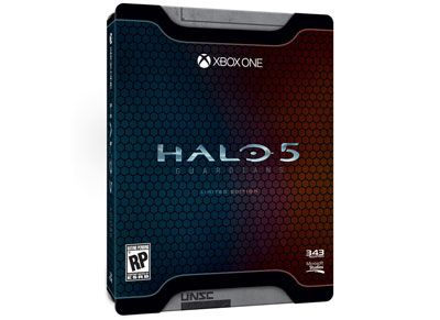 HALO 5 Guardians Limited Edition & Preorder Bonus - Xbox One Game