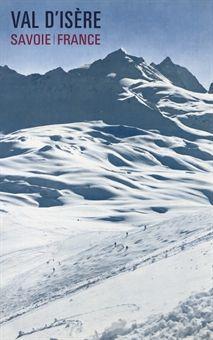 vintage ski poster of Val d'Isere