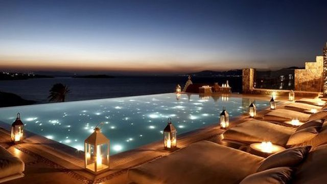#Decoracion exterior: #Iluminacion de piscinas