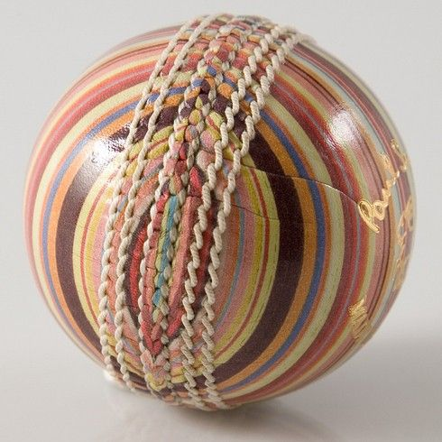 Paul Smith Cricket Ball - fashion and cricket, what's not to like