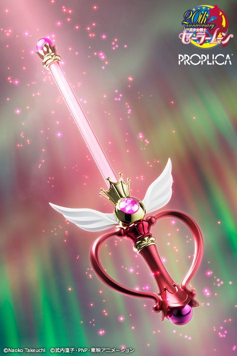 "sailormooncollectibles: "" NEW Sailor Moon Kaleidomoon Scope PROPLICA announced! more info: http://www.sailormooncollectibles.com/2016/09/22/sailor-moon-kaleidomoon-scope-proplica-wand/ """