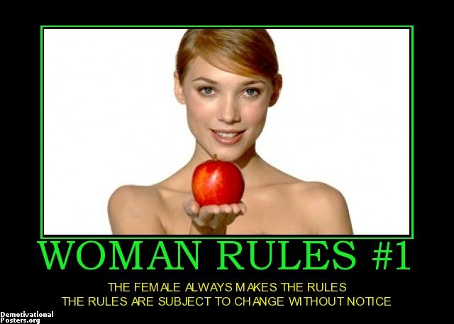 rules for a female led relationship