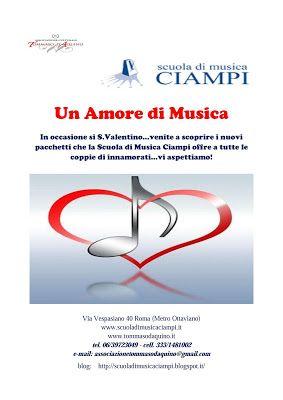 Scuola di Musica Ciampi BLOG: Offerte San Valentino: Un amore di musica!