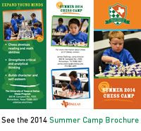 Camp - Education/Camp - Chess Program - The University of Texas at Dallas