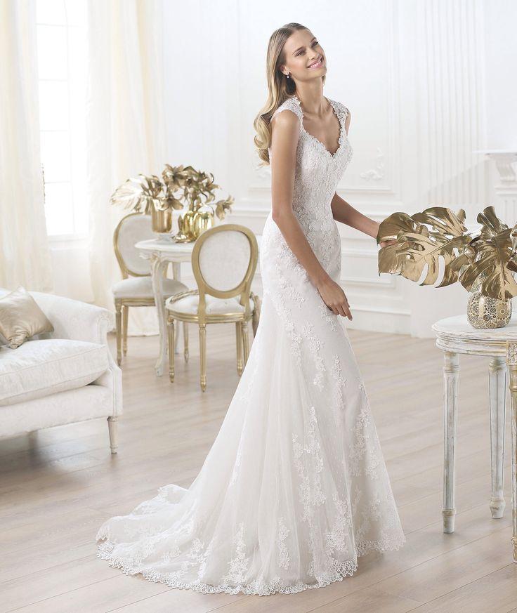 56 best Brautkleider mit spitze images on Pinterest | Brautkleider ...