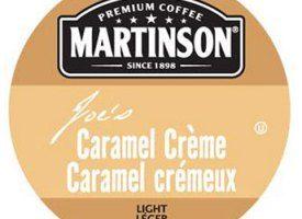 Martinson Joe's Caramel Creme Coffee Light Roast Real Cups 24ct