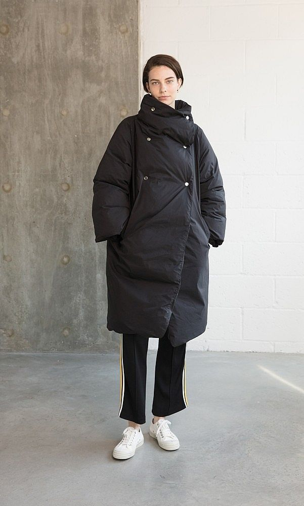 Duvet Coat. An oversized puffa coat for chilly days. Plumo