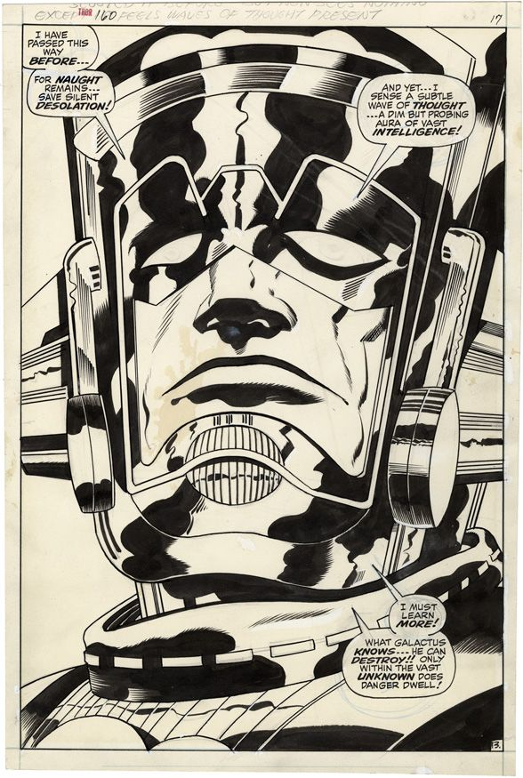 Galactus by Jack Kirby from Thor #160