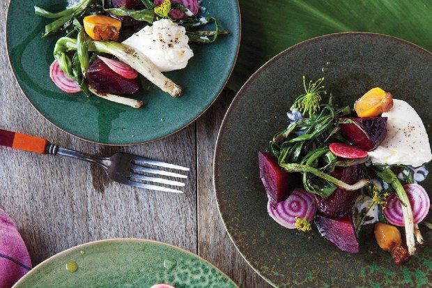 Grilled Beets with Burrata and Poppy Seed Vinaigrette | Recipe | Beets ...