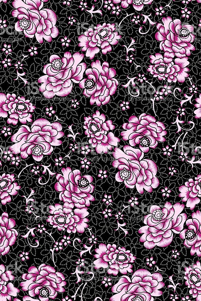 pinky flower with blackground royalty-free stock photo