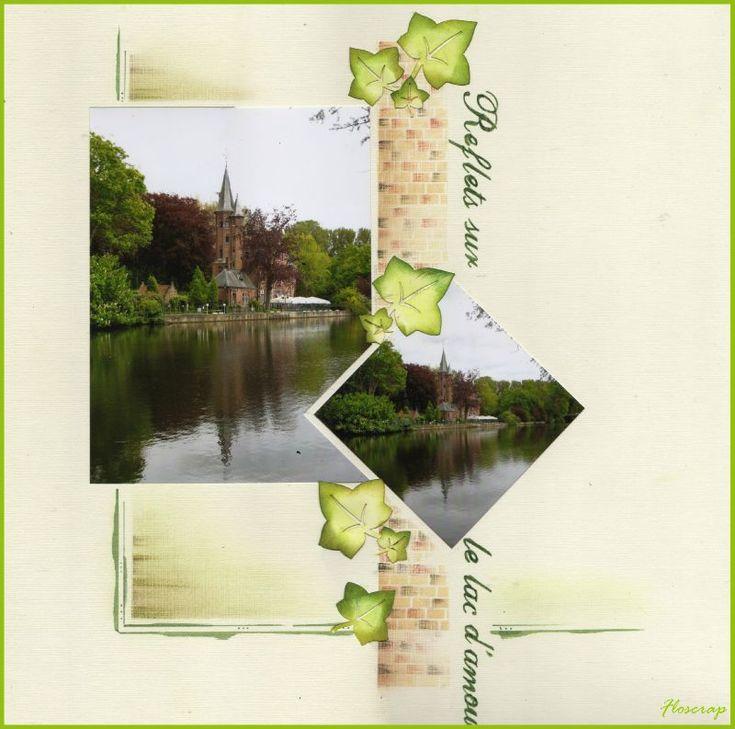 1008 - Photo de Bruges et ses envrons,mai 2010 - Flopassionscrap