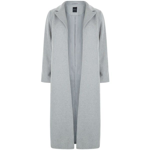 New Look Curves Grey Belted Longline Coat (3.415 RUB) ❤ liked on Polyvore featuring outerwear, coats, grey, grey coat, gray coat, longline coat, long gray coat and belted coat
