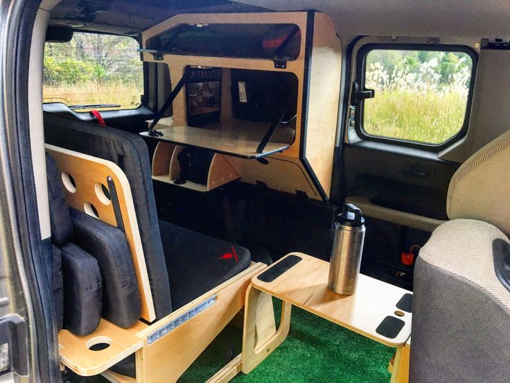 Honda Element Micro Camper System. Install or remove in minutes.