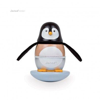 Pinguin Stehaufmännchen  Janod