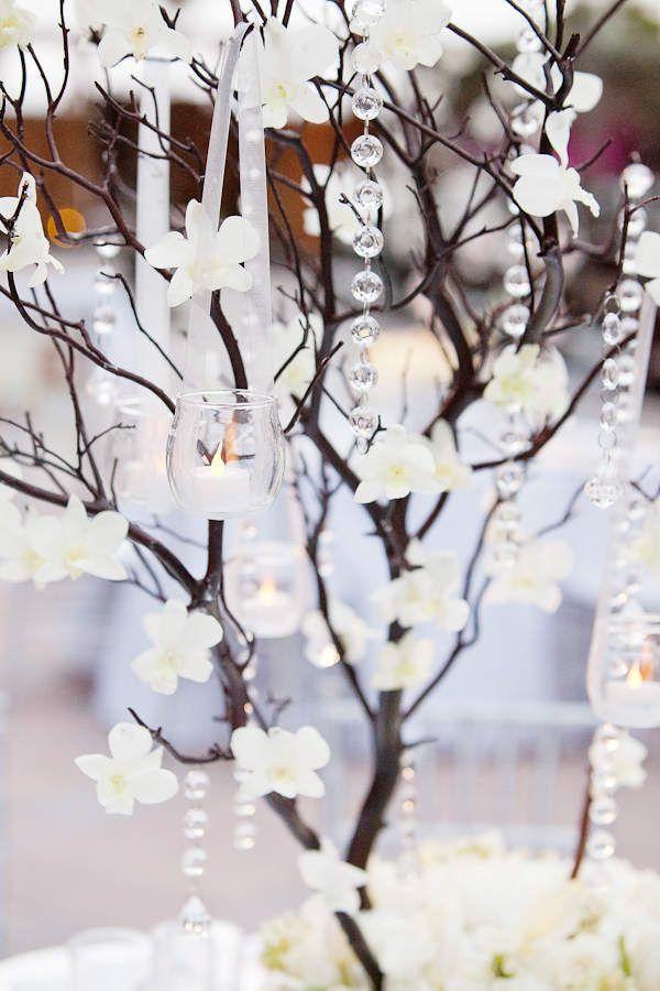 Sélection arbre centre de table mariage pas cher