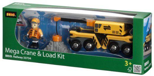 Brio 33734 - Mega-Kran-Set mit Figur: Amazon.de: Spielzeug