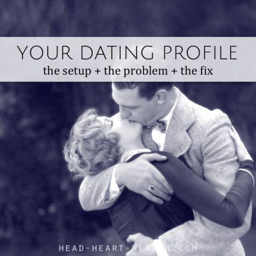 Relationship advice online dating
