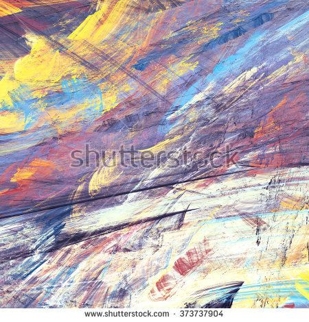 Abstract painting color texture. Bright artistic background. Modern multicolor dynamic pattern. Fractal artwork for creative graphic design