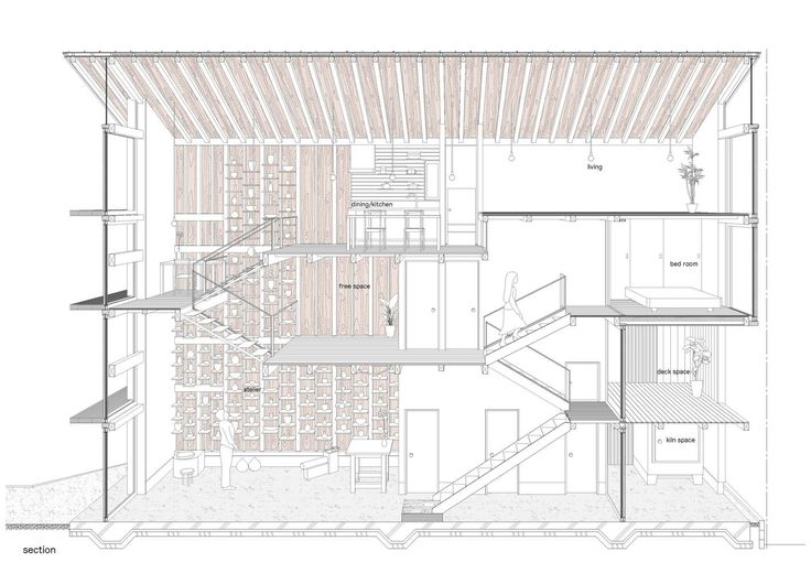 Gallery of House for Pottery Festival / Office for Environment Architecture - 22