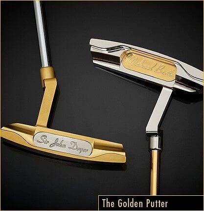 Altın Kaplama Golf Sopası