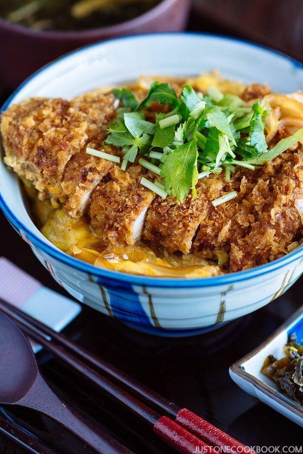 Baked Katsudon 揚げないカツ丼 | Easy Japanese Recipes at JustOneCookbook.com