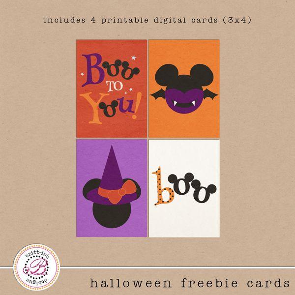 Project Mouse: Halloween Edition | Sahlin Studio | Digital Scrapbooking Designs freebie