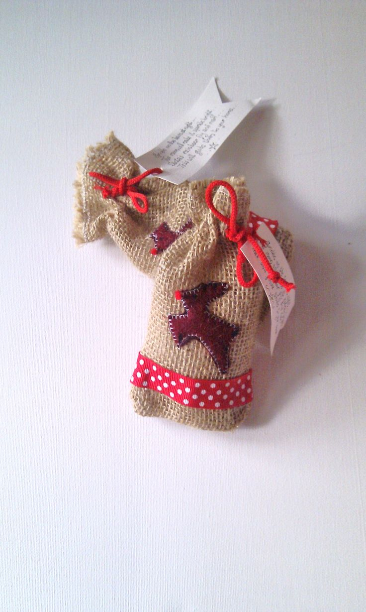Our handmade magical Santa Rudolph Food sacks are going fast and come with sparkling oats and a quirky quote to guide Santas sleigh to your home.  Children will love these and you can reuse the bag as Christmas tree decoration afterwards |£4.95