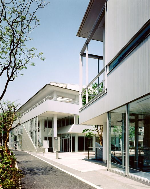 Hillside Terrace by Fumihiko Maki, Architect, Japan