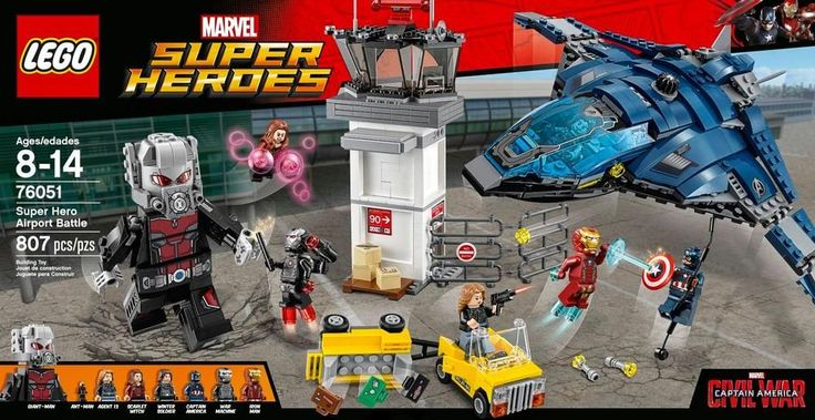 Lego - Marvel Super Heroes: Super Hero Airport Battle - Multi colored
