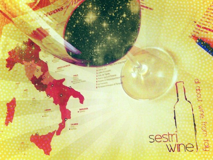 #Italy seen by the glass. At #sestriwine we aim to help you to enhance your abilities in wine-tasting.join us visiting sestriwine.com