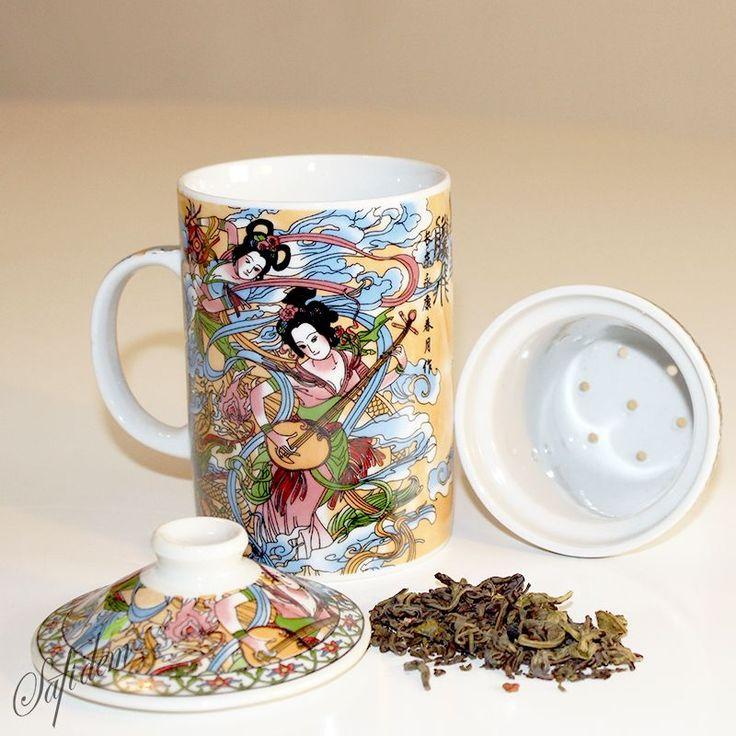 Geısha Porselen Kupa