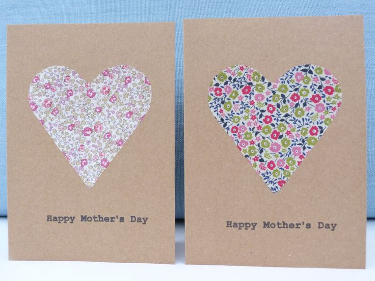 Mother's Day cards - handmade by Sarah Alexander