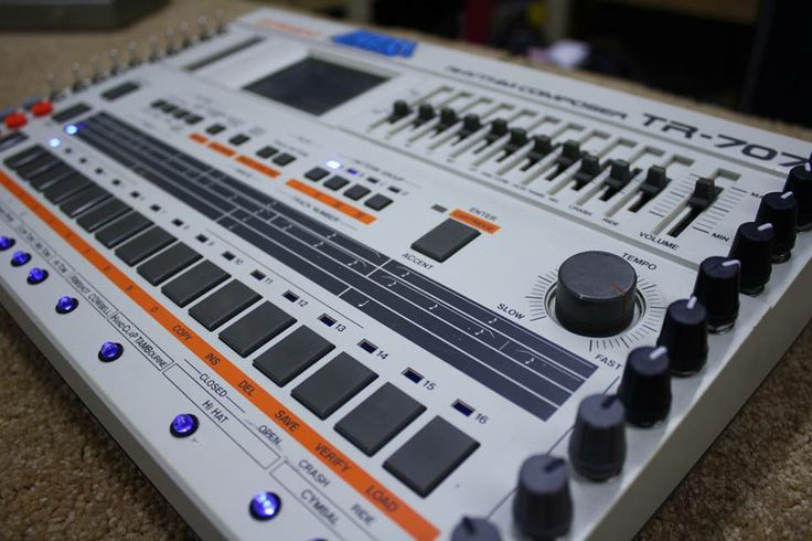 #roland #tr-707 #studio #analog #gear