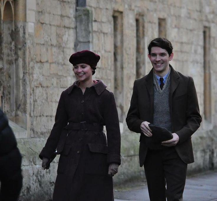 Colin Morgan and Alicia Vikander in A Testament of Youth.