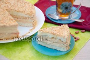 Торт с арахисовым пралине