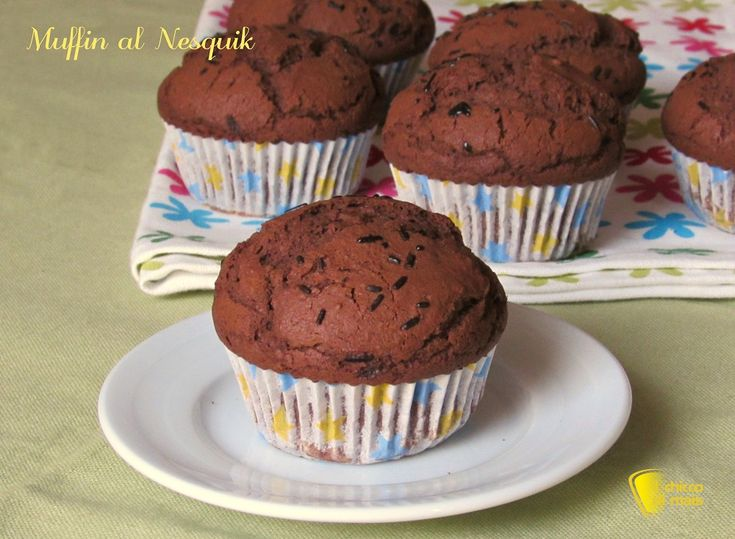 Muffin al nesquik ricetta veloce il chicco di mais