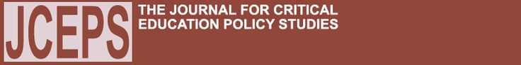 Journal for Critical Education Policy Studies