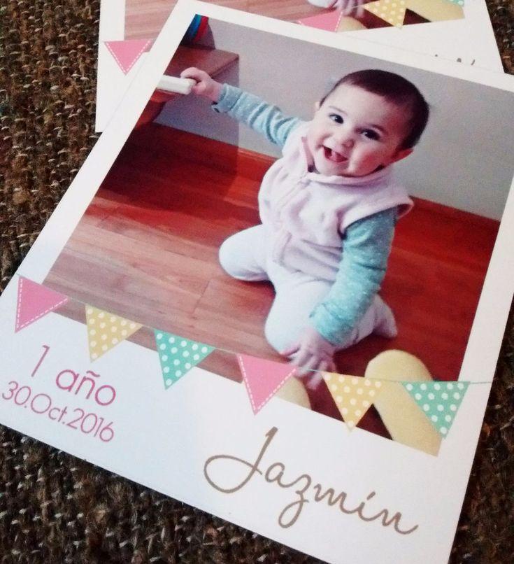 Souvenir Polaroid Foto Iman 22 Unid. Cumpleaños Bautismo - $ 120,00