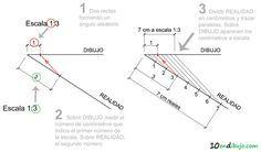 Dibujo Tecnico Bachillerato - Escalas -1Escalas gráficas