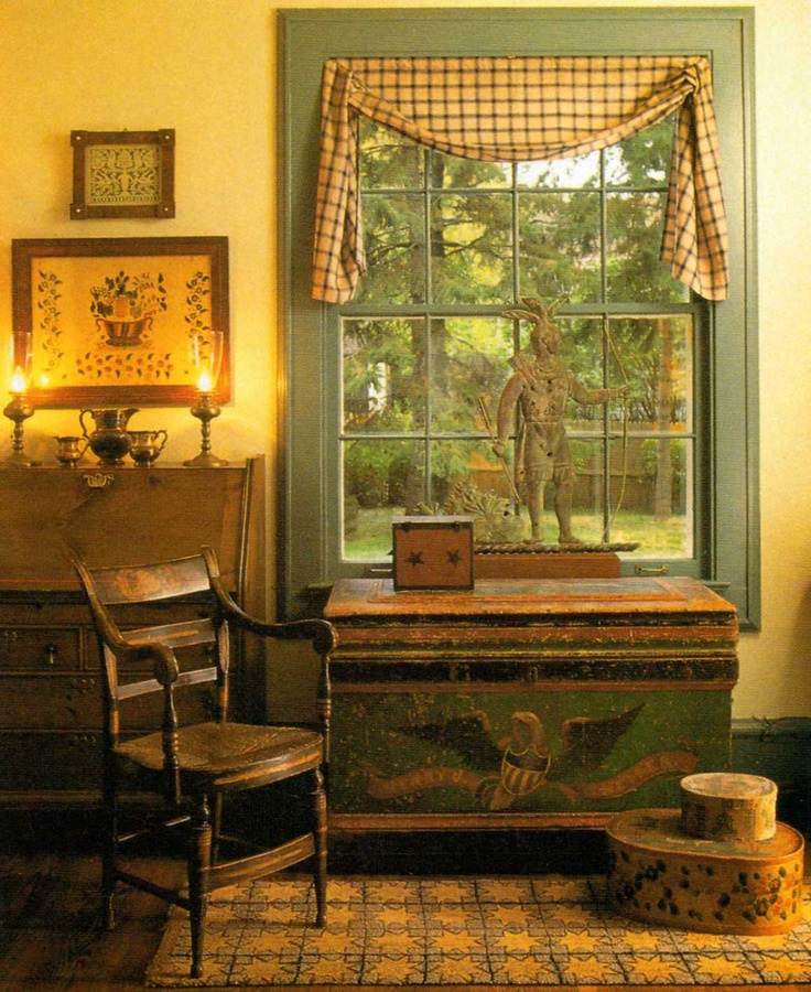 61 Best Colonial Curtains Images On Pinterest