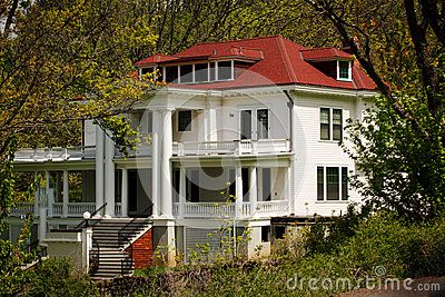 Large Old Country Estate Homestead  by L Hill, via Dreamstime