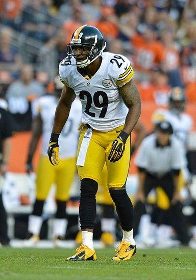ryan mundy | 2012; Denver, CO, USA; Pittsburgh Steelers free safety Ryan Mundy ...